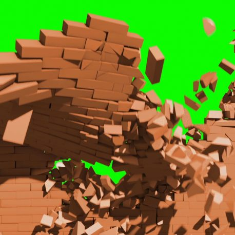 Footage – Destruction Exploding Wall HD – PixelBoom (0-00-03-11)