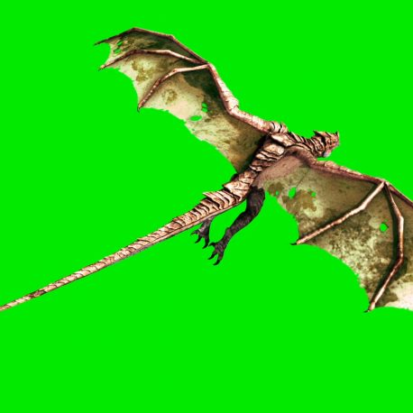 Green Screen Big Dragon Fly HD – Royalty Free Footage PixelBoom (0-00-22-18)