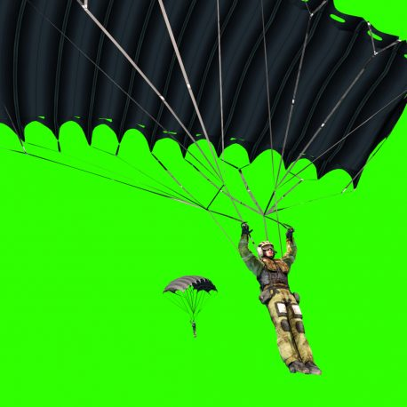 Paratroops Military Parachutist War – PixelBoom