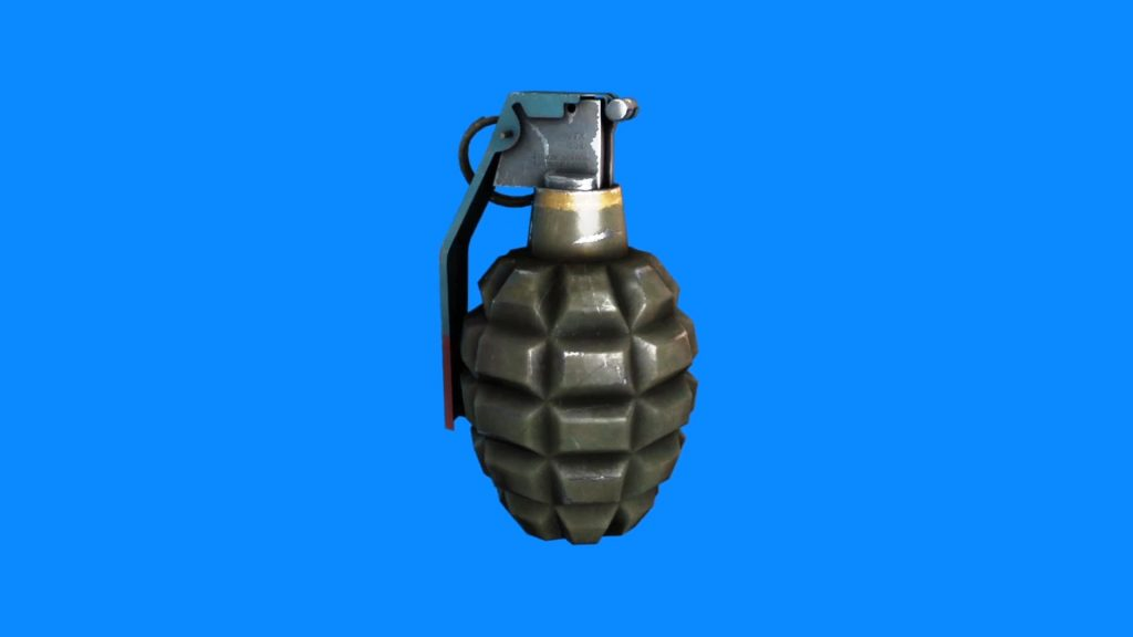 Grenade Slow Motion