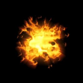 Explosions Fire – 3D Model Animated