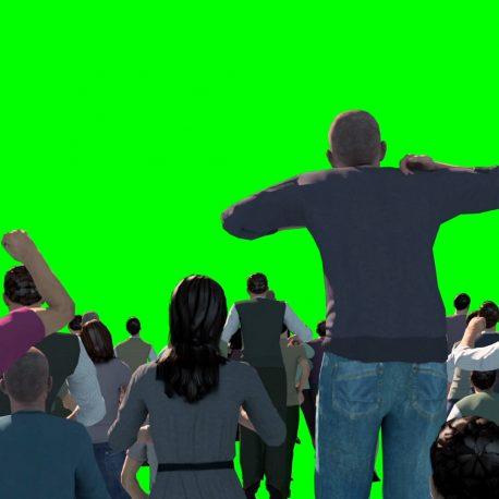 Crowd People Cheer Acclaim Concert – Footage PixelBoom