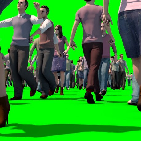 Crowd People Walking Various Angles HD – PixelBoom