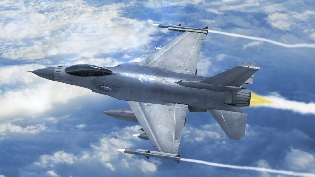 Jet F16 Fighting