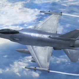 Jet F16 Fighting