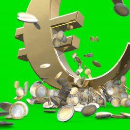 Explosion Euro Coins