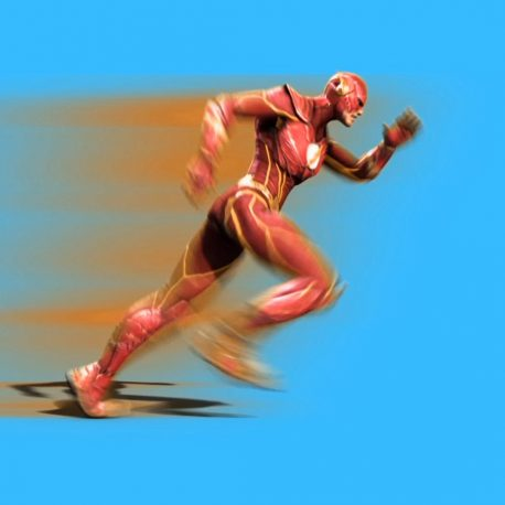 Super Hero Flash – PixelBoom