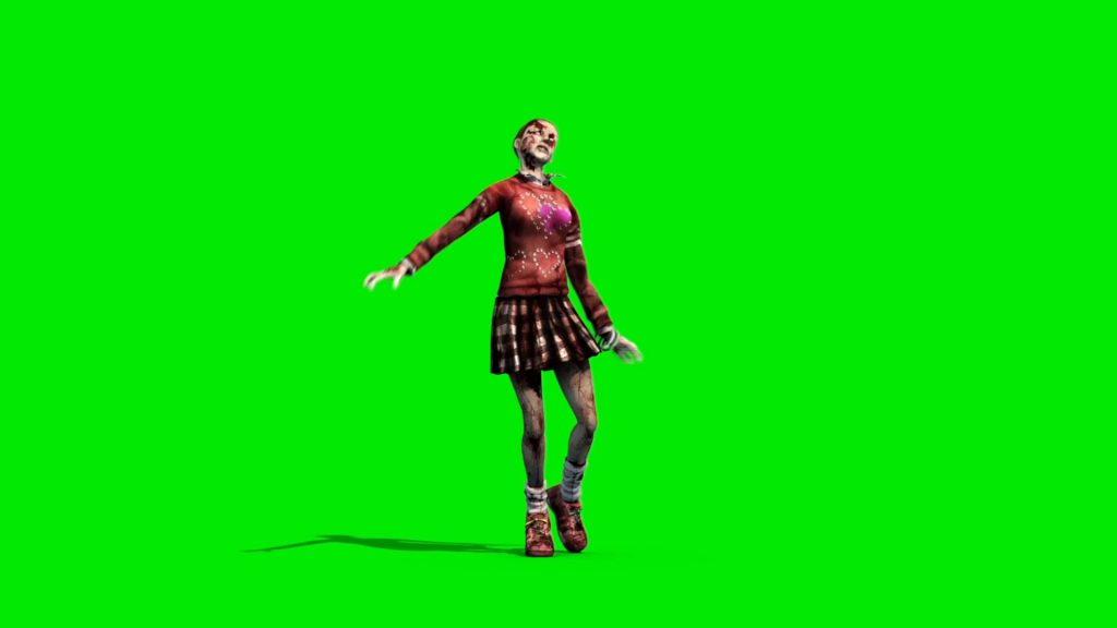 Zombie Girl Walking