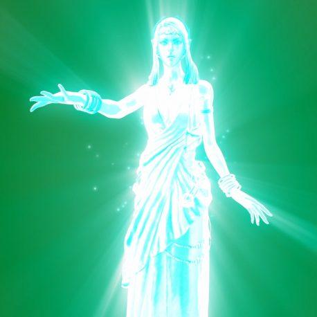 Ghost Goddess Divine Apparition – PixelBoom
