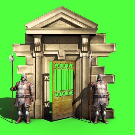 Guards Armor Entrance – PixelBoom