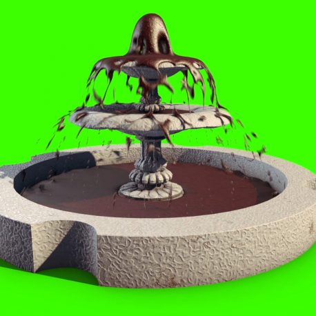 Liquid Simulation Chocolate Fountain – PixelBoom