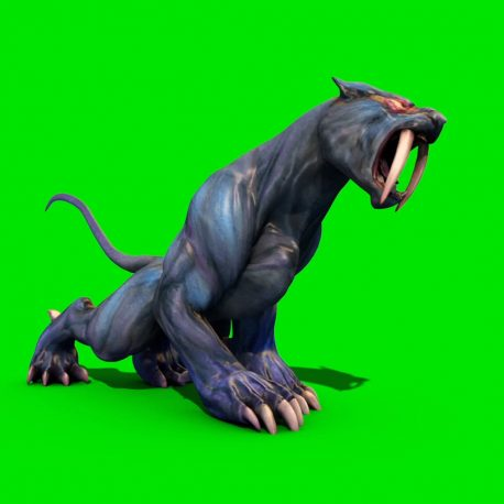 Monster Cougar Jump Attack – PixelBoom