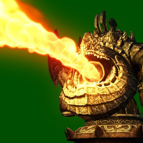 Trap Statue Flamethrower Fire – PixelBoom