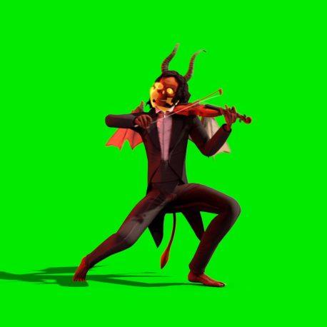 Demon Violinist Musician – PixelBoom