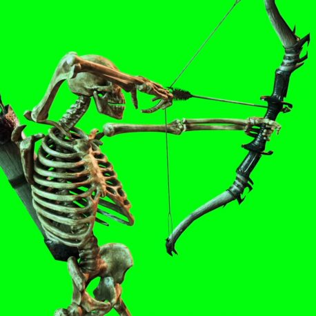 Skeleton Archer Sword Shield – PixelBoom