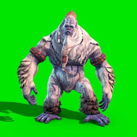 Yeti Bigfoot – PixelBoom