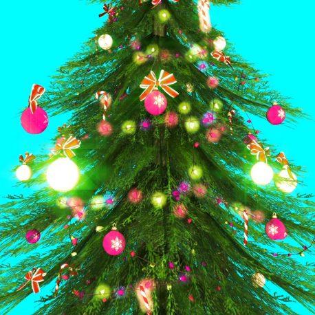 Around the Christmas Tree – PixelBoom