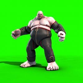 Fighter Wrestler Fat