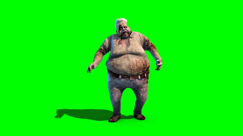 Zombie Fat Old Ma