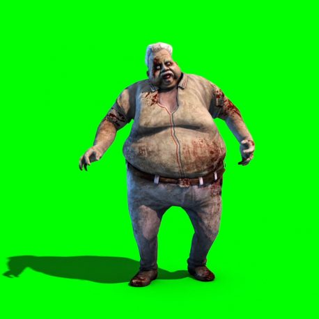 Monster Zombie Fat Old Man – PixelBoom