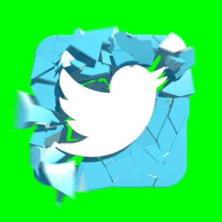 Logo Twitter Explosion Destruction – PixelBoom