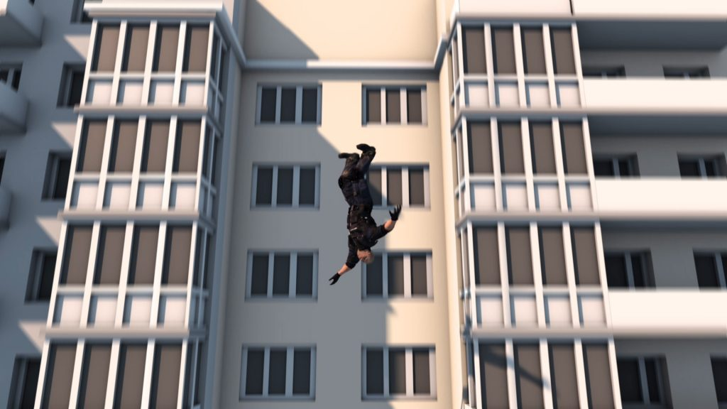 Falls from Building
