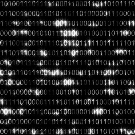 Random Binary Block – PixelBoom