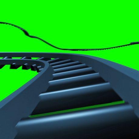 Track Rail Fast in Space – PixelBoom
