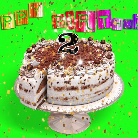 Cake Happy Birthday – PixelBoom
