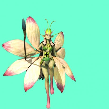 Fairy of Plants Attacked and Dies – PixelBoom