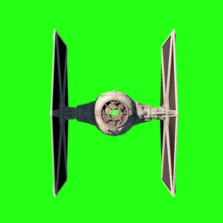 Tie Fighter Star Wars Space – PixelBoom