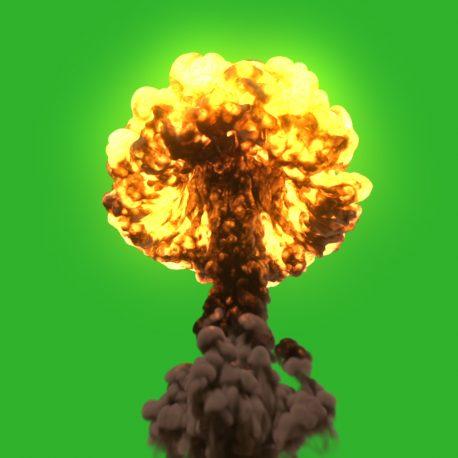 Bomb Explosion Atomic Mushroom – PixelBoom2