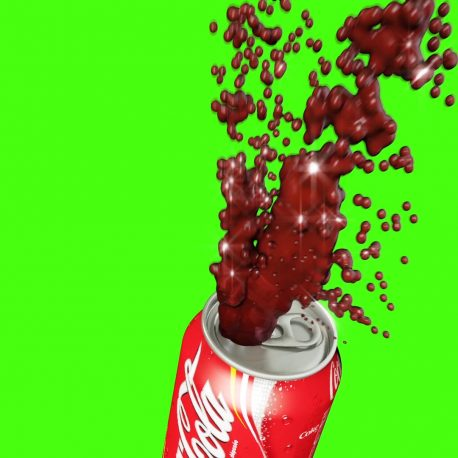 Splash Coke Water Spray Hydrant – PixelBoom