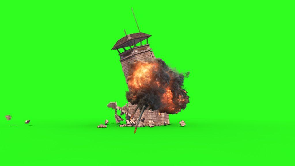 Prison Tower Crash