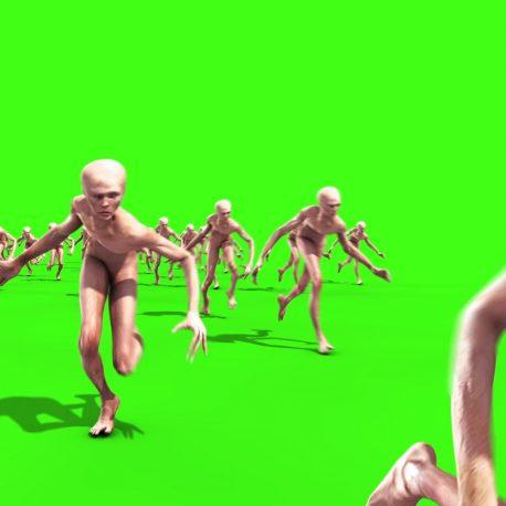 Crowd Humanoid Invasion Climb up – PixelBoom