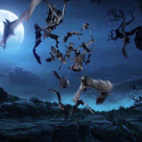 Flock of Bats – PixelBoom