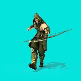 Superhero Green Arrow