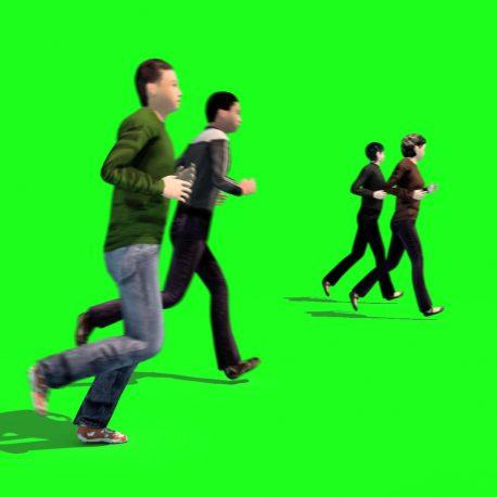 Crowd People Run Running – PixelBoom
