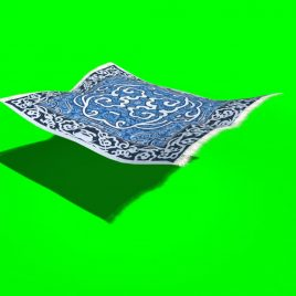 Flying Carpet – 3D Model Animated