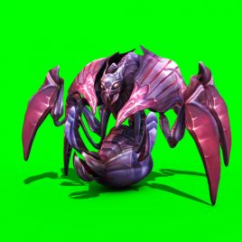 Monster Beetle Mantis – 3D Model Animated