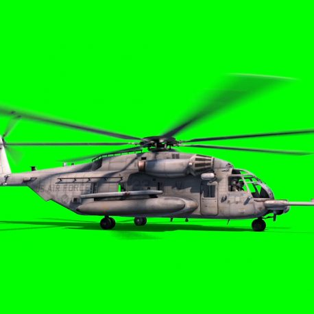 Helicopter MH-53M Pave Low Takes off – PixelBoom