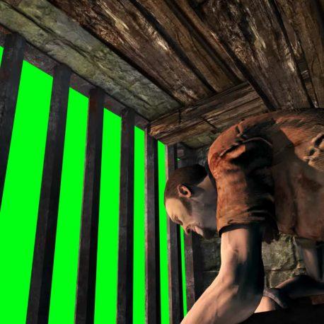 Prison Cage Prisoner Chained Chains – PixelBoom