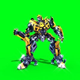 Bumblebee – 3D Model Animated
