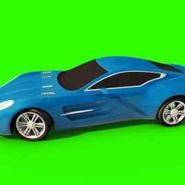 Aston Martin – 3D Model Animated
