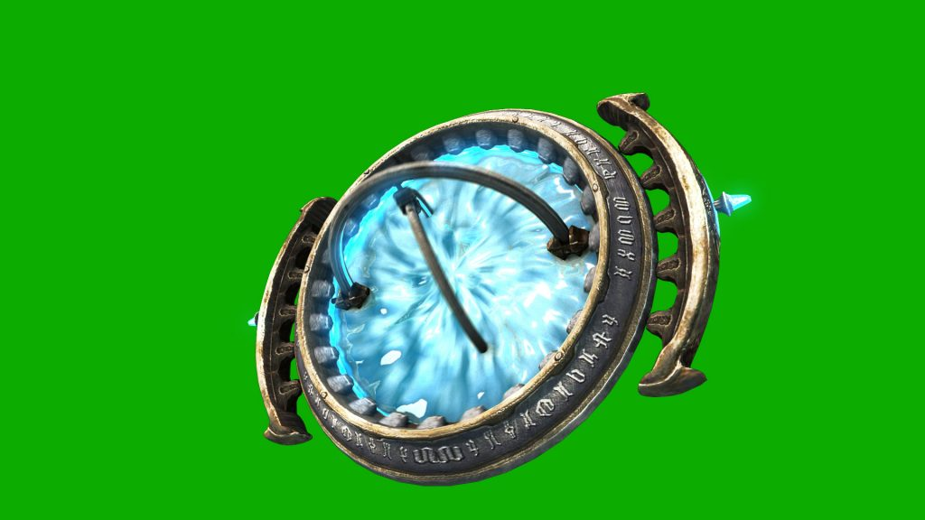 Stargate Portal – 3D Model Animated