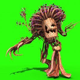 Tree Man – 3D Model Animated