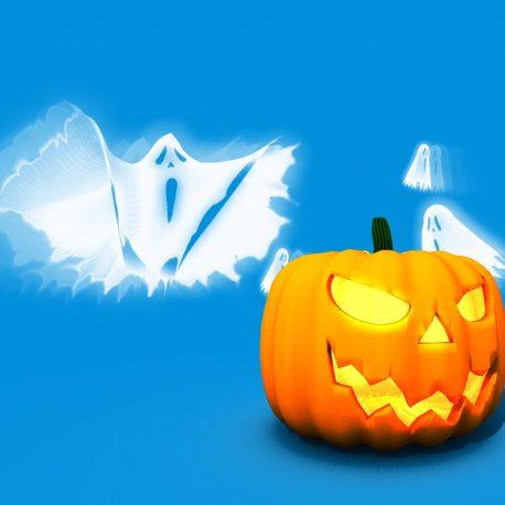 Invasion of Ghosts Halloween – PixelBoom