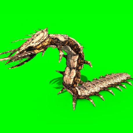 Monster Giant Centipede Walk Attack – PixelBoom