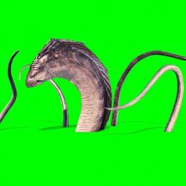 Monster Swamp – 3D Model Animated