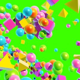 Cluster Particles – 3D Model Animated
